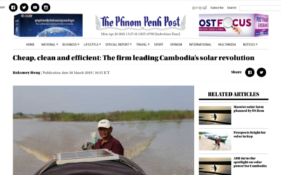 Cheap, clean and efficient: The firm leading Cambodia's solar revolution