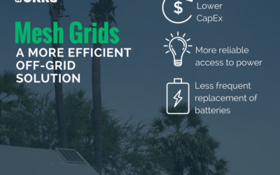 Mesh microgrids – a more efficient off-grid future